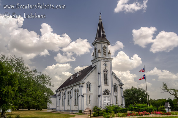 Sts. Cyril and Methodius Catholic Church - Dubina, Texas
