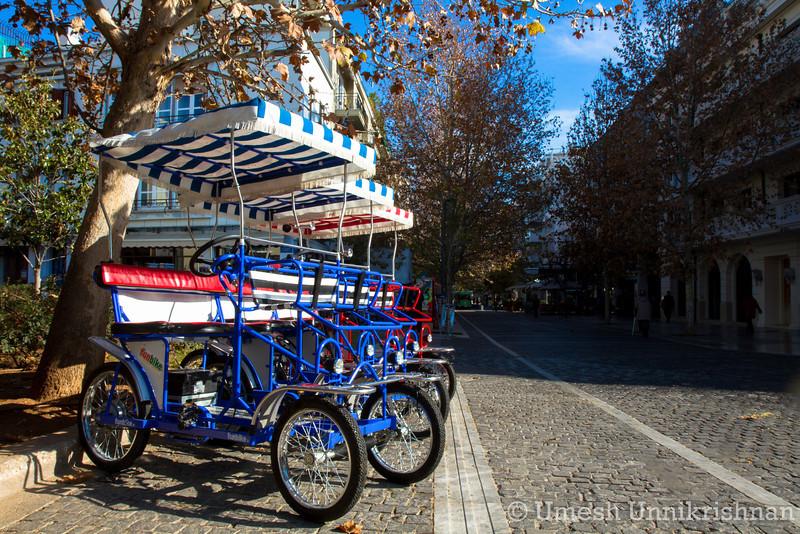 Athens - Bikes along Plaka.jpg