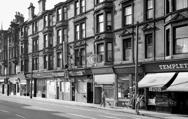 Norfolk St, north side between Bridge St and Coburg St.    June 1975