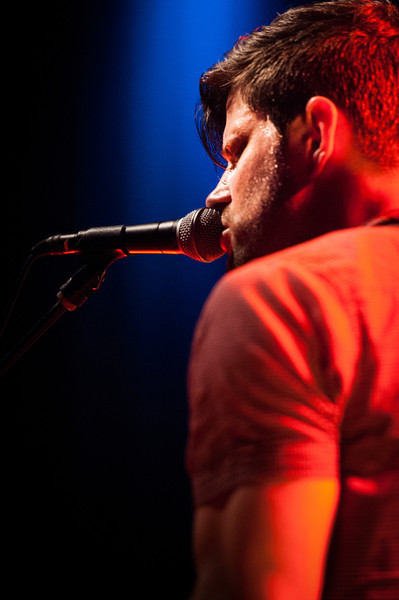 Ran Jackson of The Daylights performs at State Theatre in St. Petersburg, Florida on April 27, 2011