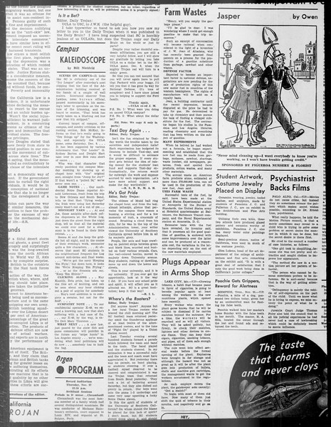 Daily Trojan, Vol. 33, No. 40, November 01, 1941