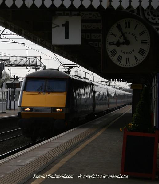 Taken on platform 1 Newark 2009