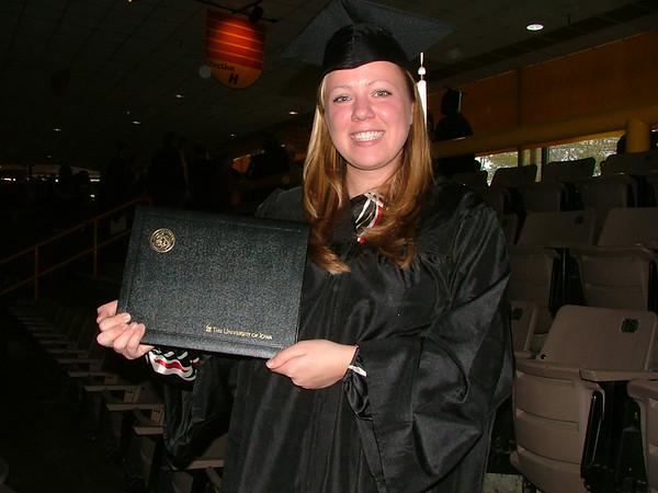 Erin Graduation Iowa December 2007