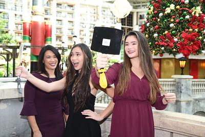 12-23-2017 Sylvia Leong, Aiana & Alyssa Braddom @ Gaylord