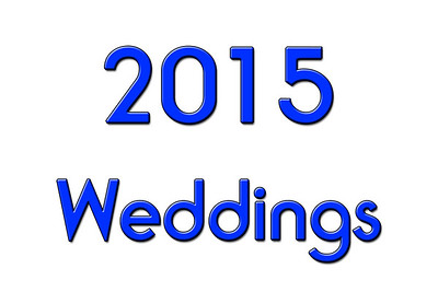 WEDDINGS 2015
