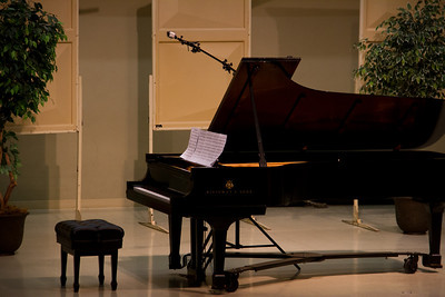Benjamin Tan Senior Piano Recital '12