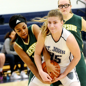 Lakeside at St. John's girls basketball 02-04-19