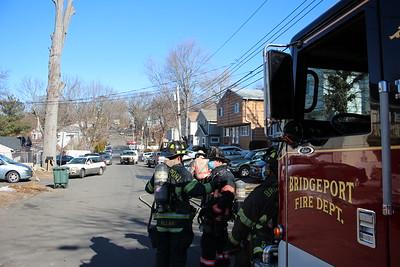 Gas line rupture - 31 Robert St. Bridgeport, CT - 3/3/2021
