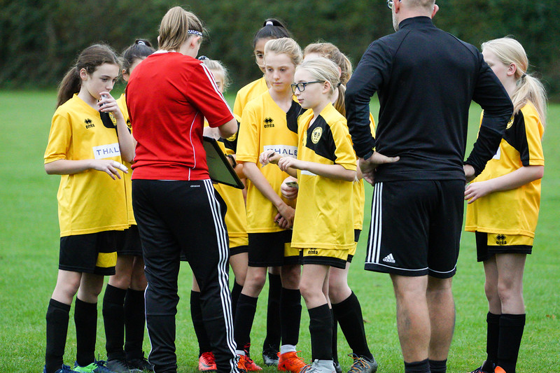 Crawley Wasps U12 (1) vs Horsham Sparrows U12 (1) on October 14, 2018 at Ewhurst Plying Field, Crawley, Crawley. Photo: Ben Davidson, www.bendavidsonphotography.com (181014-327)