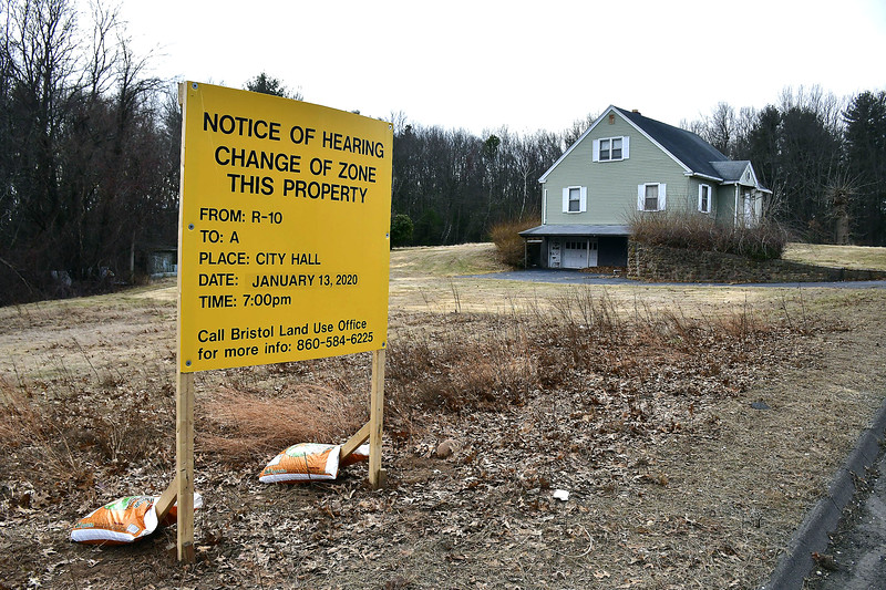 1/7/2020 Mike Orazzi | Staff A proposed gated community on Redstone Hill Road in Bristol has neighbors up in arms, an information  meeting is scheduled for Thursday at the Manross LIbrary.