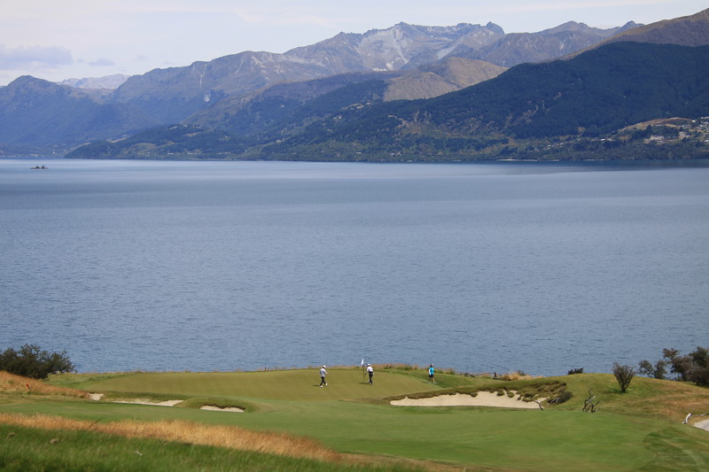 Jack's Point Golf Course with Remarkable Mtns