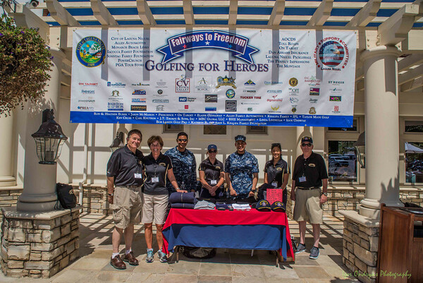Golfing for Heroes