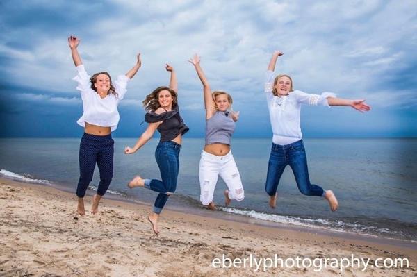 Senior Girls Day at the Dunes