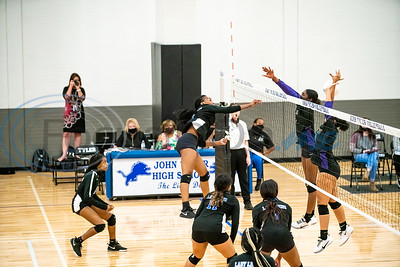 Tyler High School Women's Volleyball vs Lufkin High School by Michel Alfaro