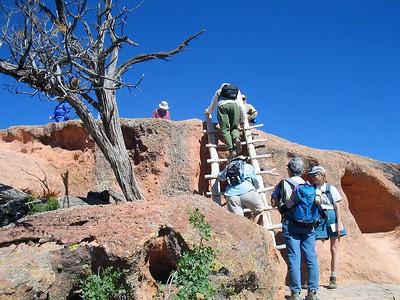 Tsankawi and Bandalier New Mexico Photos