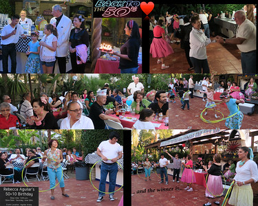 2015 June Rebecca Aguilar's 50+10 Birthday Party