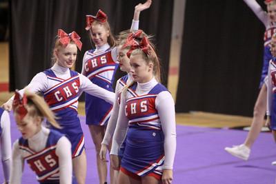 Conner Cheerleaders 2/18/12