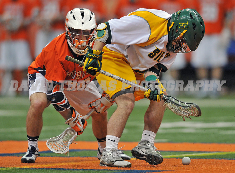 Siena vs Hobart Men's Lacrosse 2012