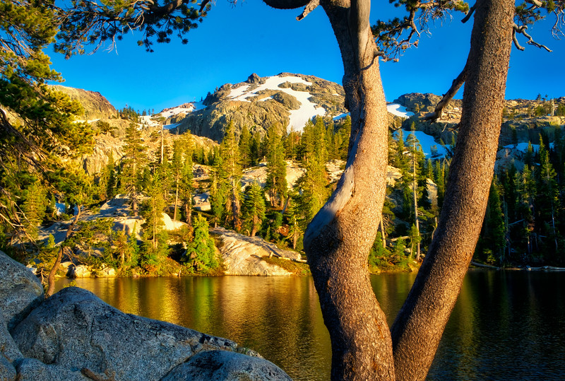Backpack from Carr Lake to Five Lakes Basin