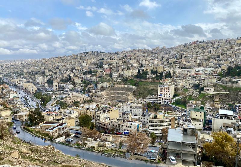 View from the Citadel, Amman, Jordan