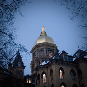 Notre Dame in Winter