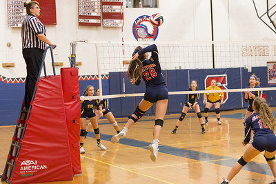 Sayre Volleyball ~ CV High 9-27-18