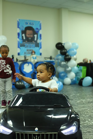 ZION 1ST BIRTHDAY PARTY