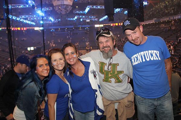 2014 Big Blue Madness (Fans)