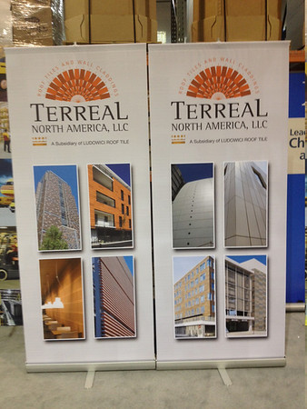 Terreal Cladding Trade Show Booths
