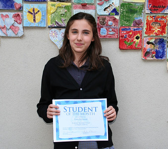 Students of the Month January 8 2010