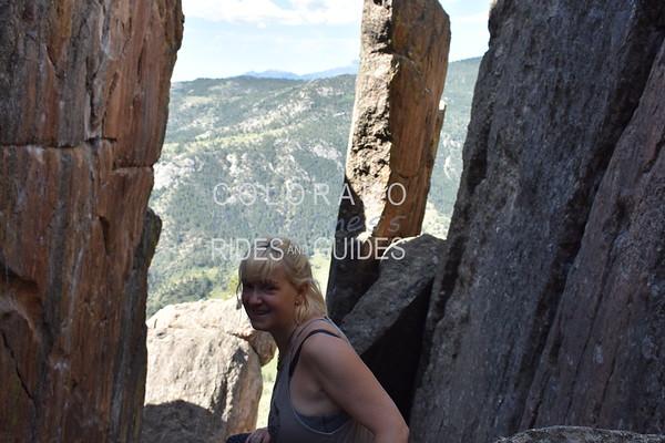 2019 07 13 Elaine Davis Full Day Climb