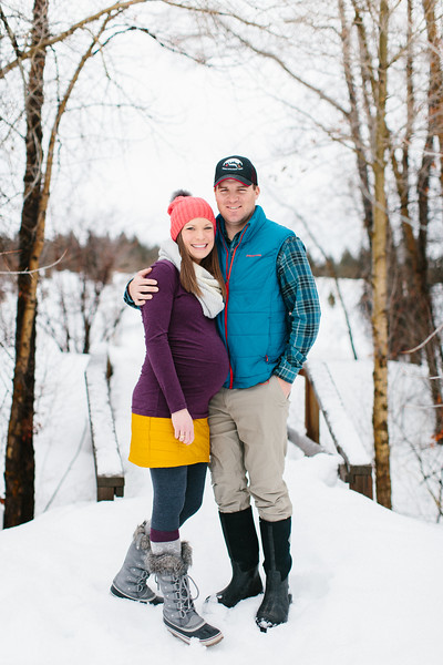 Colleen and Mark Maternity