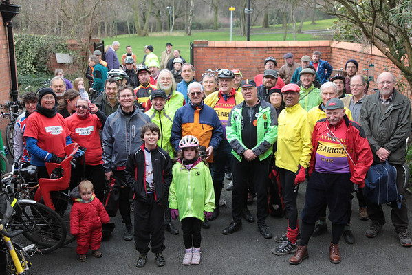 Clarion Club group photo WCML February 2012