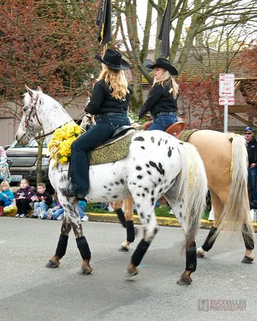 Lariettes at Daisy Parade 2011