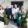 Fr Murphy officially opens the new extension at St Laurence O'Tooles PS Belleeks with Anamda Toner, Jimmy McCreesh, John Moley and Principal Brea Friel. Also pictured is the schools youngest pupil Patrick James and the oldest pupil Hannah. R1621001