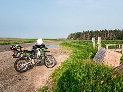 07-04 KLR ride around Albert County