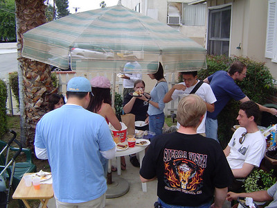 2008.05.26 Mon - Memorial Day Griffith Park hike & BBQ @ Brian & Annie Smith's