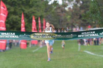 HS Girls Elite Finish - 2012 Spartan Invitational