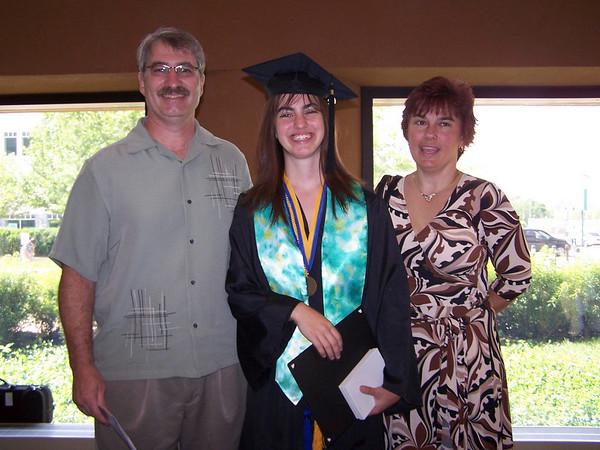 Megan's High School Graduation