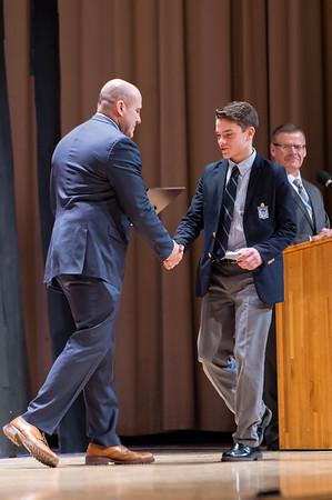 Freshman & Junior Varsity Athletic Awards –March 8, 2019