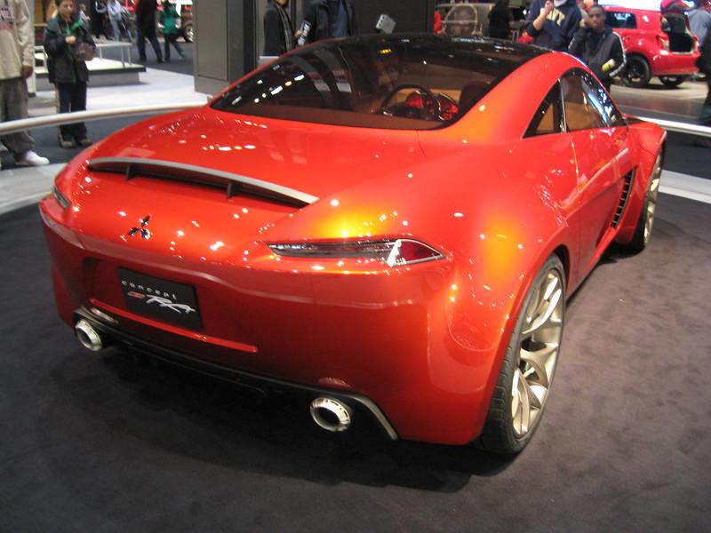 Concept car: Mitsubishi Concept-RA