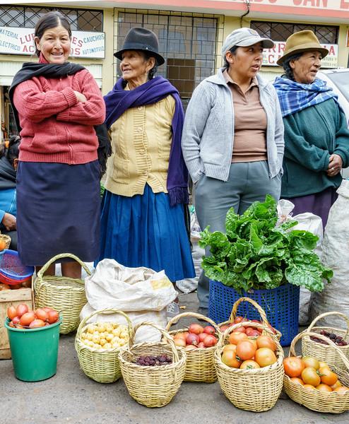 Ecuador Pillaro Street Market