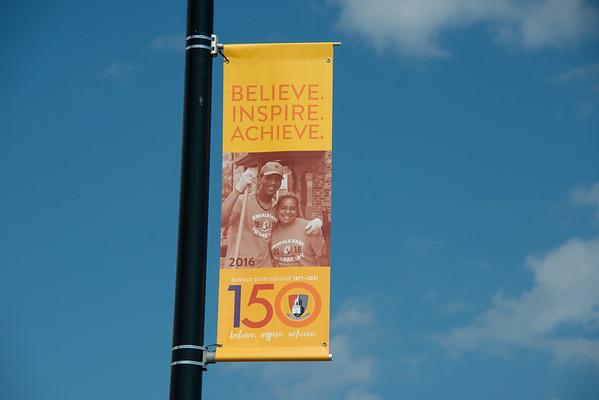 8/3/21 Buffalo State 150th Anniversary Street Banners