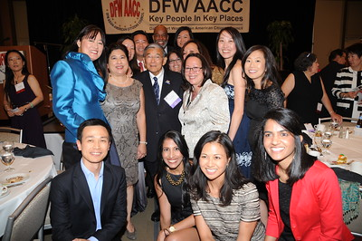 9-6-2014 DFWAACC Banquet w/ Norm Mineta