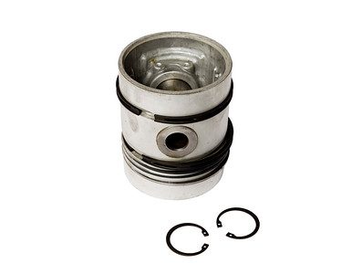 MASSEY FERGUSON 185 188 290 390 590 SERIES CHROME ENGINE PISTON WITH RINGS NON TURBO A4.236 98.48MM BORE 5 RING