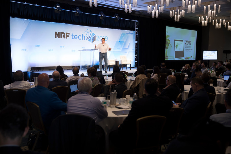 Patrick Gauthier at NRFtech 2019