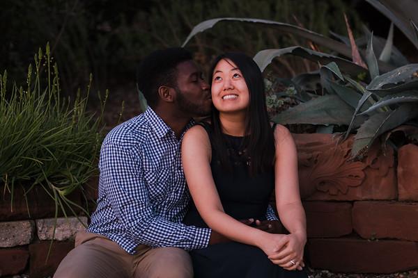 Jennifer & Lawrence Engagement / Pasadena CA