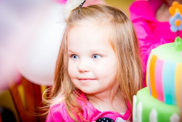 Chloe's 3th Birthday Party