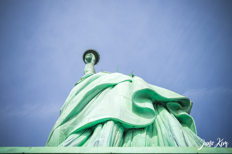 Statue of Liberty from the bottom