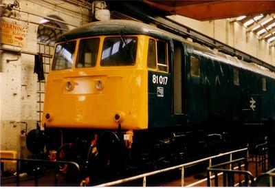 BREL Crewe-26 April 86